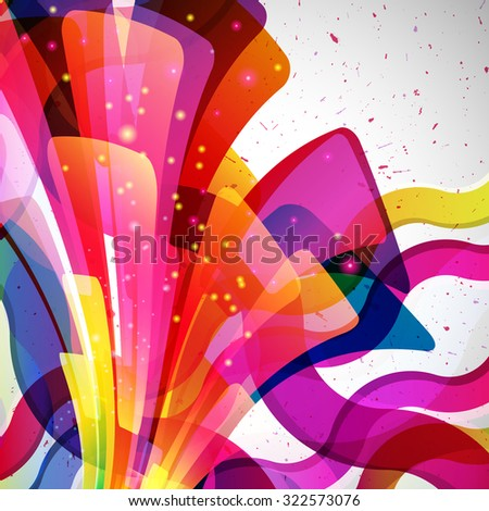 Multicolor abstract bright background. Elements for design.  - stock photo