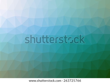 multicolor abstract geometric rumpled triangular low poly style illustration graphic background - stock photo