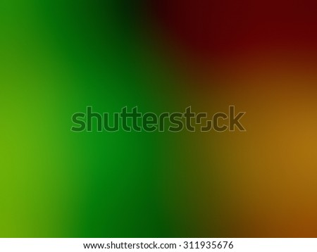 Multicolor green, orange, yellow blur abstraction. Blurred background, pattern, wallpaper, smooth gradient texture color. Raster abstract design for your business.