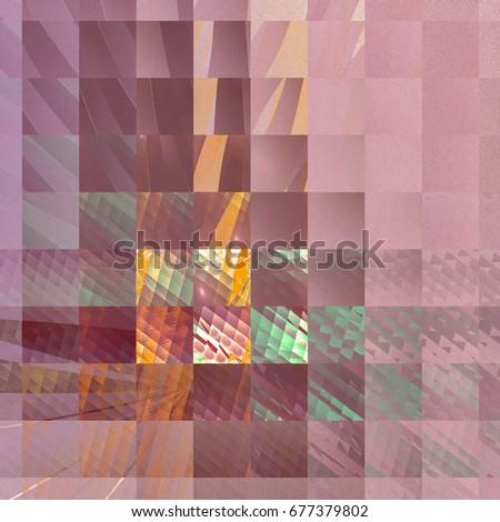 Fractal patchwork