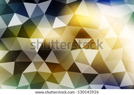 multicolor polygonal packground. origami style. raster copy illustration. for design, presentation, innovation, wallpaper, business