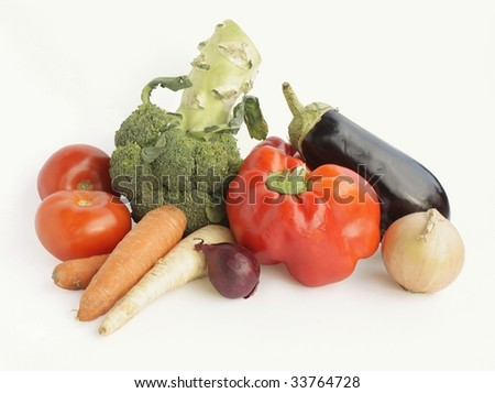 multicolor vegetable