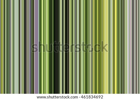 Multicolored abstract of many straight and narrow contiguous stripes in succession like a pattern