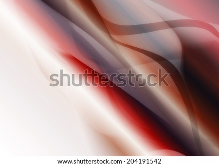 multicolored bright abstract background with waves with metallic shine red - stock photo