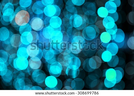 Multicolored de-focused bokeh light background.