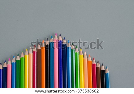 multicolored pencils. Wooden Pencil. colored pencils