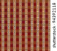 Multicolored plaid pattern background - stock photo