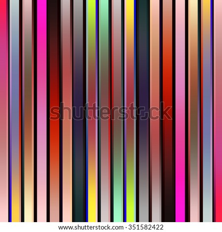 Multicolored vertical graduated stripes abstract. - stock photo
