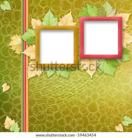 Multicoloured Holiday Frames Greetings Invitations Stock ...