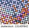 Multicolred sequin texture - stock photo