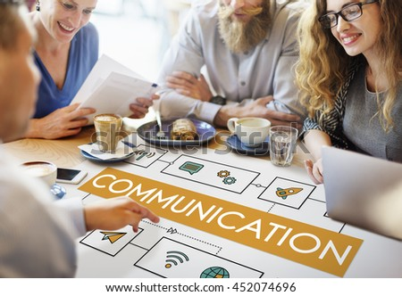 Multiethnic Hipster Colleagues Communication Concept  - stock photo