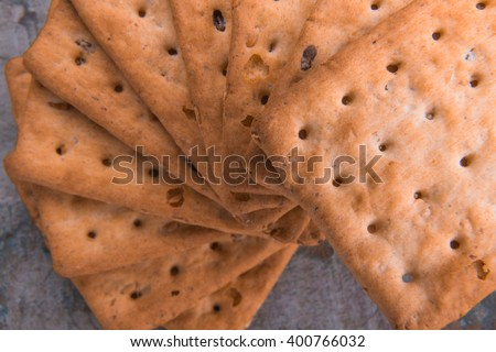 Multigrain Biscuit / Multigrain Biscuit / Multigrain Biscuit - stock photo