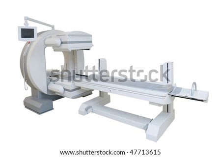 Multipurpose gamma camera - stock photo