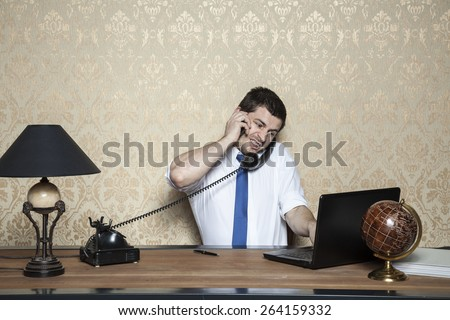 multitasking is my middle name - stock photo