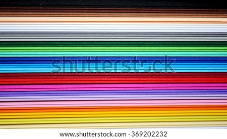 multitude of colors horizontally