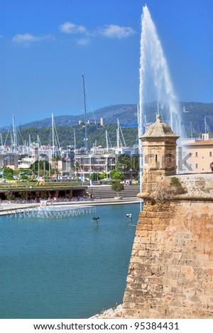 Murallas de Palma de Mallorca - stock photo