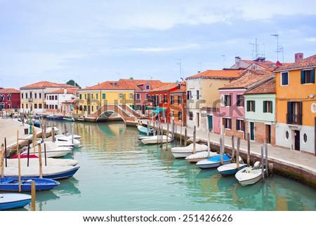 Murano island, Italy - stock photo