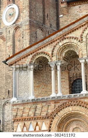 Murano island Venice Italy San Donato church - stock photo