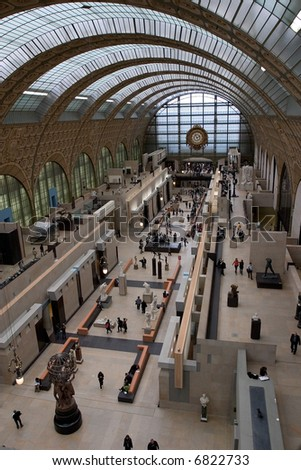 Musee d'Orsay - stock photo