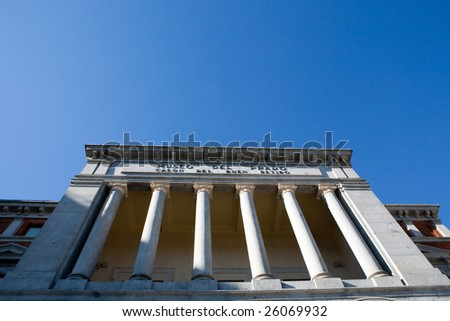 Museo Del Prado - stock photo