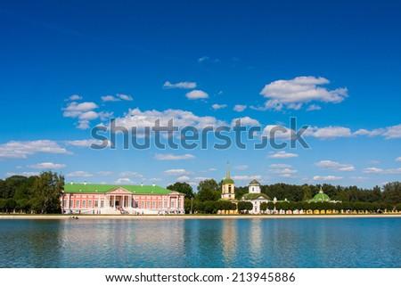 Museum-Estate kuskovo, Moscow, Russia - stock photo