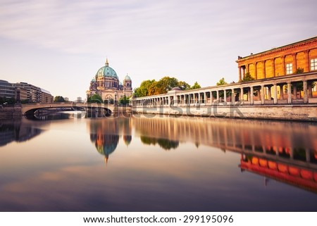 Museum Island with Berlin Cathedral - Berlin, Germany - stock photo