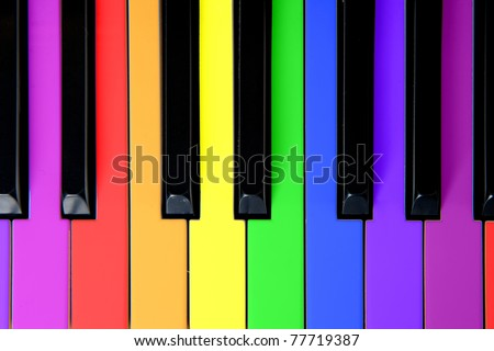Music and joy for kids - stock photo