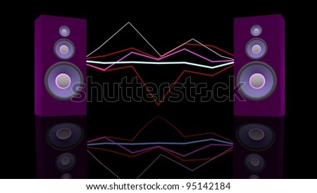 Music concept - stock photo