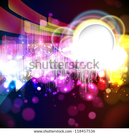 music equalizer wave - stock photo