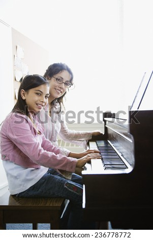 Music Lesson - stock photo