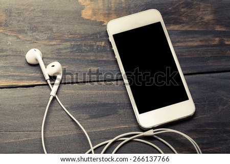 Music, market, network. - stock photo