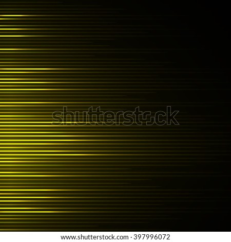 Musical equalizer, sound waves - stock photo