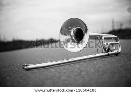 Musical instrument - stock photo