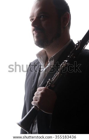 musical instruments - clarinet  - valves and tubes - mouthpiece for playing