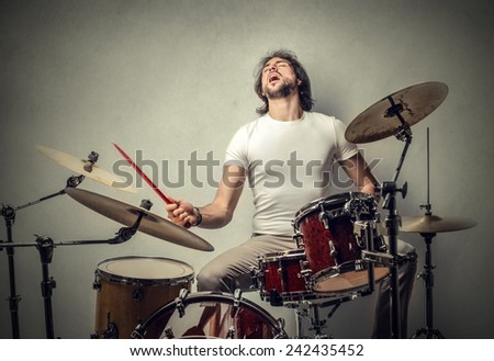 musician  - stock photo