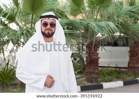Muslim man - stock photo