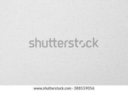 Muslin sackcloth woven texture pattern background in bleached white grey color tone: Eco friendly raw organic flax cloth fabric textile backdrop: Bag rope hessian thread detail textured burlap canvas - stock photo