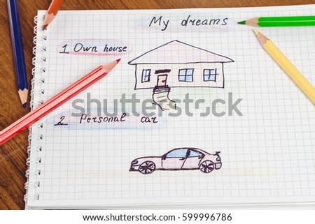 Drawing Car Future Stock Images Royalty Free Images