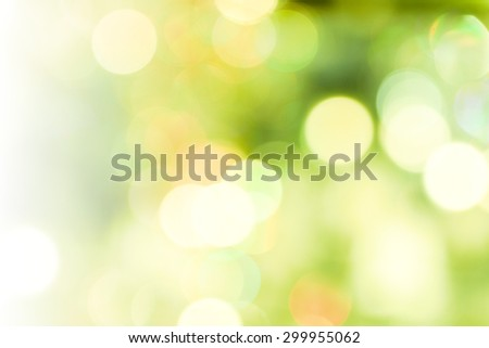 my idea of soft Green colored abstract background