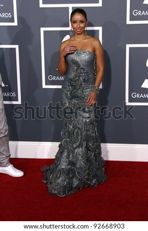 Mya at the 53rd Annual Grammy Awards, Staples Center, Los Angeles, CA. 02-13-11