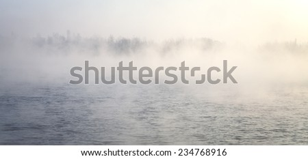 Mysterious island. More great photos in my portfolio - stock photo