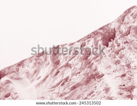 Mysterious surface. Abstract painting - stock photo