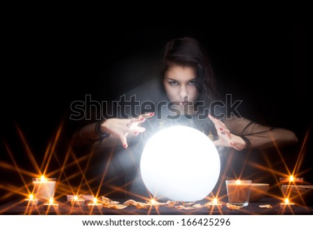 Mystery concept - stock photo