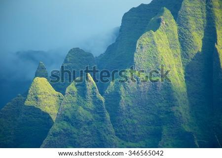 Na pali coast, Kauai, Hawaii  - stock photo