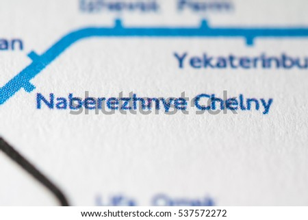 Naberezhnye Chelny Russia On Geographical Map Stock Photo - Naberezhnye chelny map