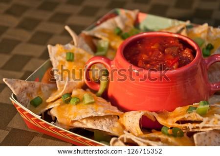 Nachos - stock photo