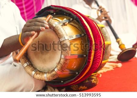 Nadaswaram Thavil Musical Instrument Hindu Wedding Stock ... Nadaswaram Instrument Clipart