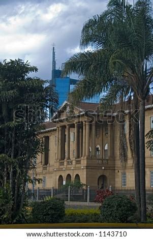 nairobi - stock photo