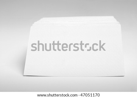 Name Cards on Seamless Background - stock photo