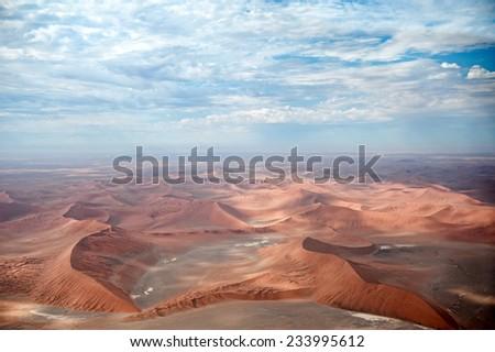 Namib Desert, Sossusvlei, Namibia, Africa - stock photo